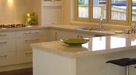 Cabinet Material; Bench Tops